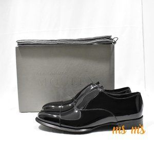 NWT Alexander McQueen Black Patent Dress Shoes
